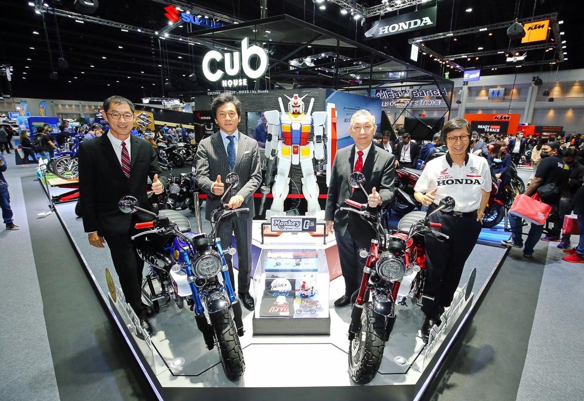 2021 Honda Monkey Gundam Limited Edition Launched In Thailand Rm17 500 Bikesrepublic
