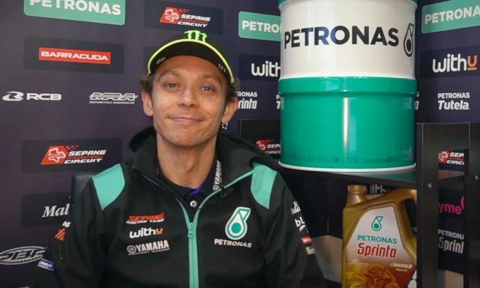 MotoGP: Valentino Rossi greets 2021 in Petronas Yamaha SRT ...