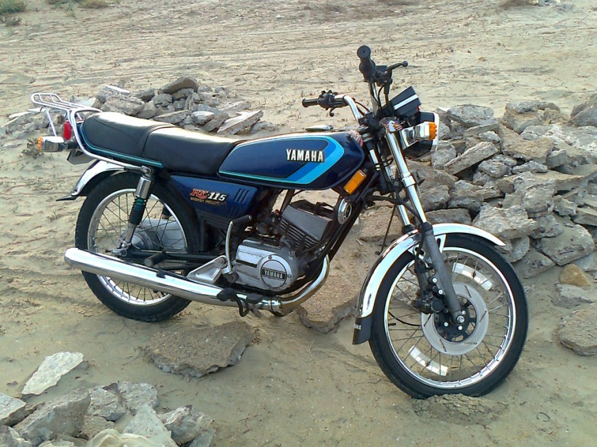 Photo courtesy of Yamaha RX 115 Fan Club Facebook
