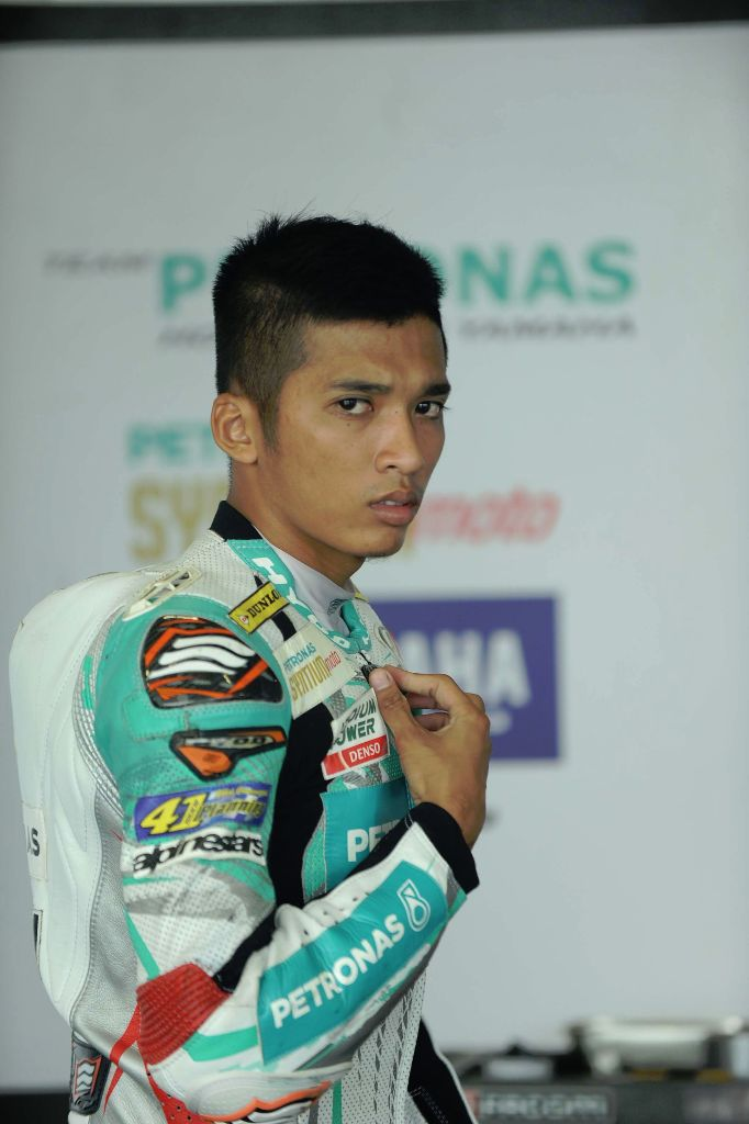 Ahmad Afif Amran appeared quickest in the opening practice in Teluk Intan on Saturday