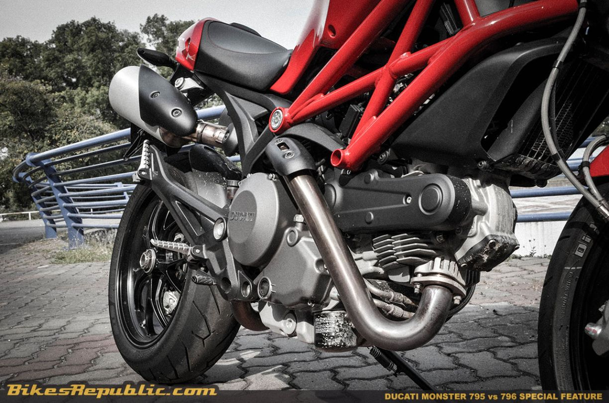 Ducati Monster 795 vs 796 - What's the big difference?