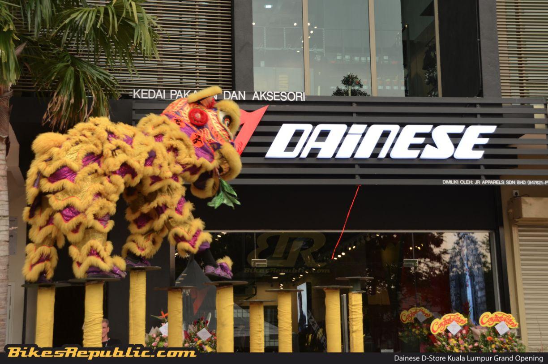 New Dainese D-Store Kuala Lumpur opens in Glenmarie