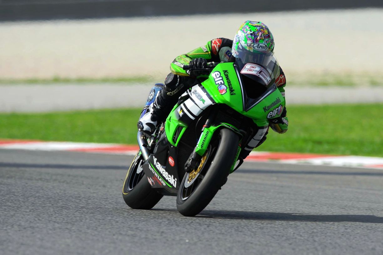 Farid Badrul in action at Sepang