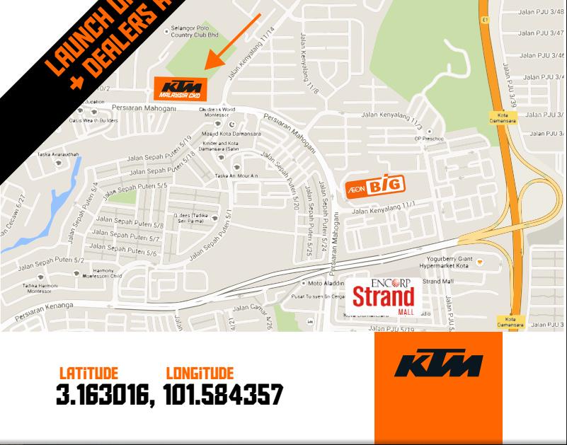 KTM CKD Address