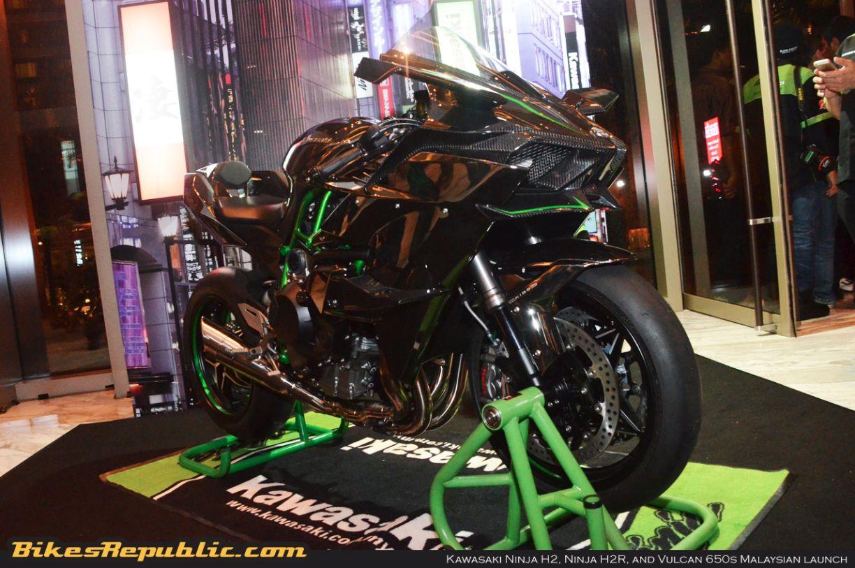 Kawasaki Ninja H2 And Ninja H2r Plus Vulcan 650s Debuts In Malaysia