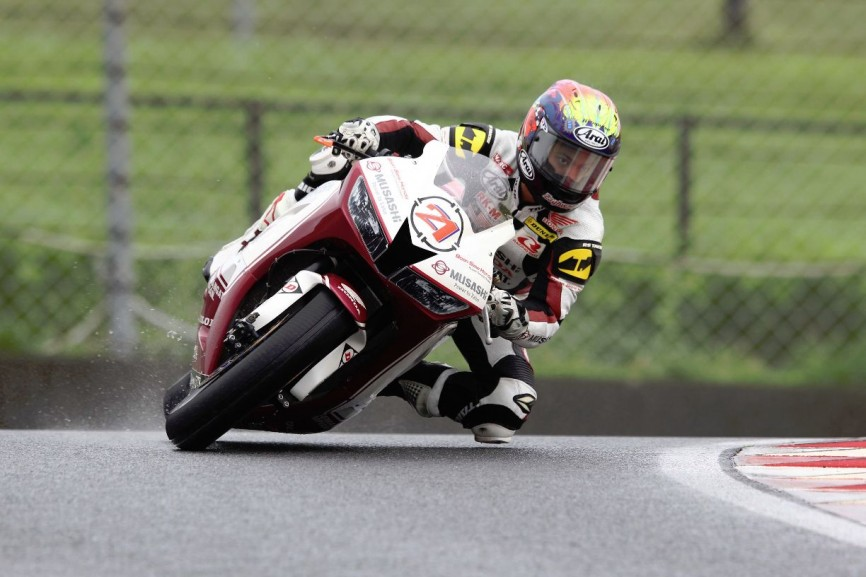 Moto2 bound Zaqhwan Zaidi clinched last year's SuperSports 600cc title