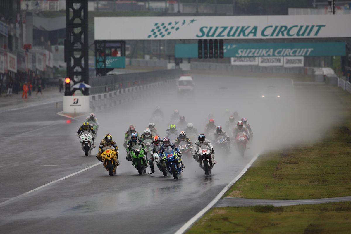 SS600 Race 1 at the Suzuka Circuit