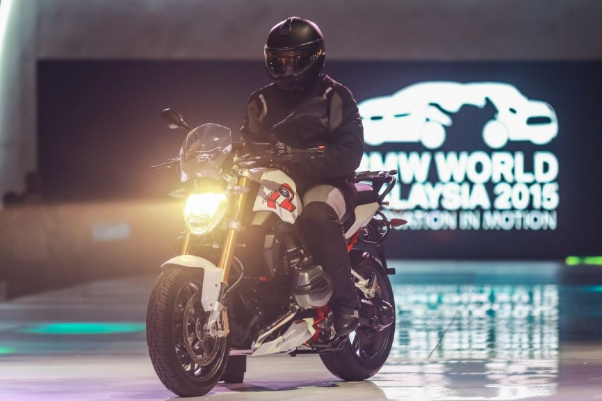 The new BMW R 1200 R (1)