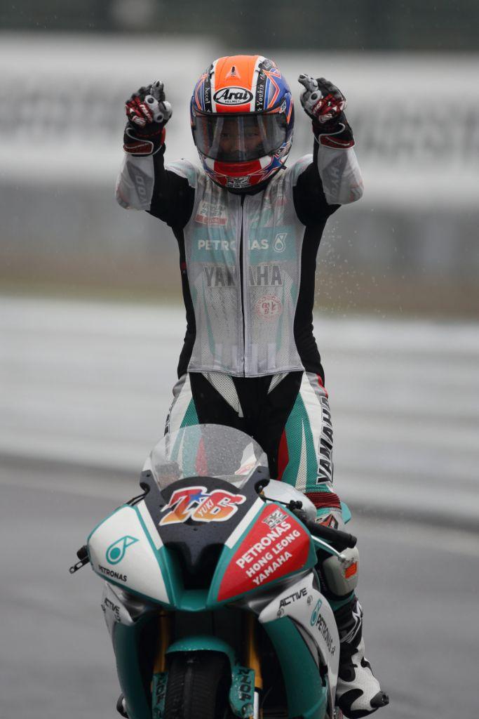 Yuki Ito clinched his first win for the season at Suzuka