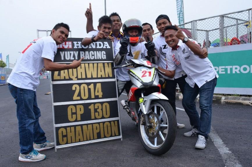 Zaqhwan win title CP130