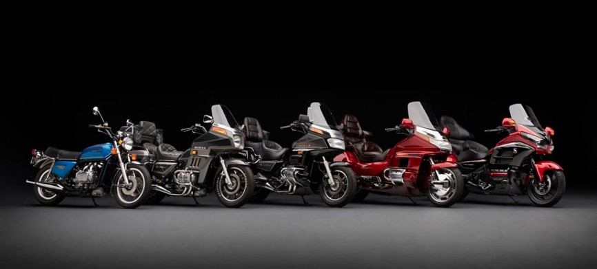Historic Gold Wing Models